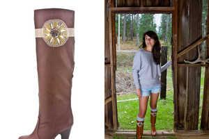 The 2 Bandits Accessories Make Your Footwear Prettier