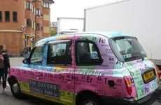 Smart Carvertising - Oxford Science Park Makes Periodic Table of Elements Vehicles