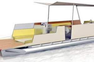 The Pontoon Boat Concept '3 RMS, LK Vu' by Jruiter