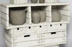 Pureed Paper Drawers