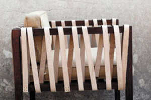 The Symi Arm Chair by Casamidy Recalls Ancient Worlds