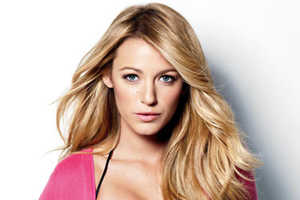 Gossip Girl Star Blake Lively in Marie Claire