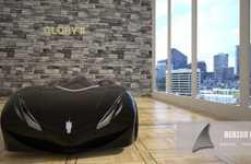 Behzad Hormoz Designs a Batmobile-Like Ride