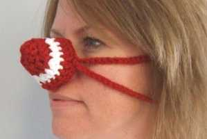 Crocheted Covers Will Keep Your Nose Toasty This Winter