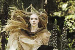 Michel Comte Captures Amanda Seyfried in Vogue Italia