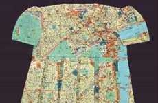 Elisabeth Lecourt's Map Dresses Will Help You Get Around