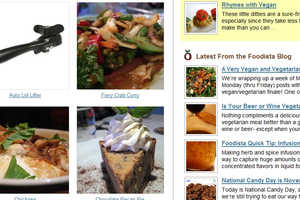 Foodista Offers Recipes and Cooking Tips Through User Editing