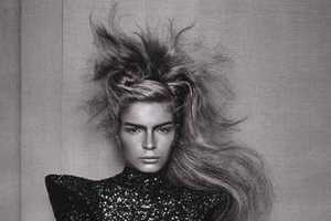 Billowy Locks and Chain Mail Headgear for November 2009 Vogue Italia Beauty