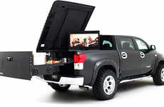 BBQ Pickup Trucks - The Tundra Midnight Rider by Brooks and Dunn Gets You Ready to Tailgate