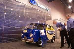 The Hybrid Subaru 360 Van is a Retooled Blast from the Past
