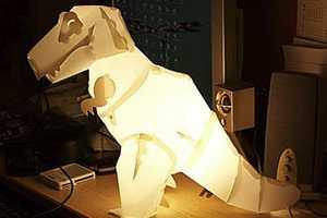 Think Geek Creates Mega Mesozoic Craft Lamps