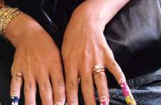 Art Gallery Manicures - The Nefer/nfr Exhibit at New York City's Capricious Gallery