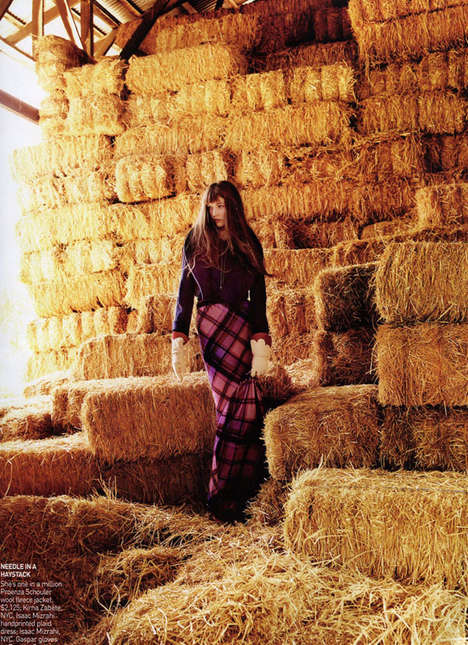 Fashionable Farming Editorials