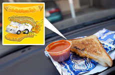 Mobile Niche Foods - The Grilled Cheese Truck Looks Delicious and Smells Better