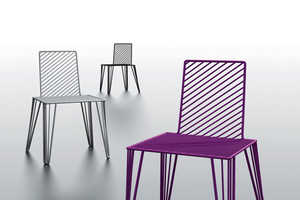 The Metal Moare Chair Series by Lucie Koldova