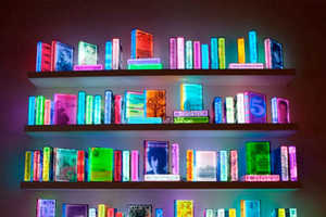 Airan Kang Uses LED Lighting to Illuminate 109 Books