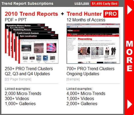 2010 Trend Reports + Pro - Leverage the World
