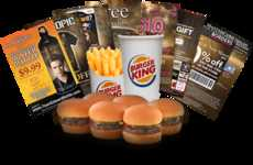 Vampire Value Meals - Burger King's Adult Fun Meal Includes 'New Moon' Trading Cards