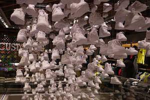Nike Harajuku Flagship Store Opens With Artistic Displays