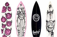 Graffiti Wave Riders - Andre for Quicksilver Surfboards are Gnarly