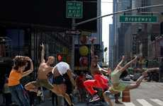 Mid-Street Metro Ballet - Richard Calmes Dance Photography Raises the Bar in NYC
