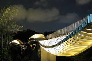 The Pedestrian Walkway in Telok Blangah Hill Park in Singapore