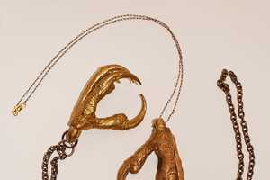 Talonalia Bird Claw Pendants are Hot, but a Little Creepy