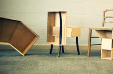Prefab Furniture Hacks - Kenyon Yeh Creates Unique Pieces with IKEA Hacks