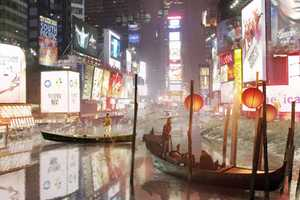 Aqualta by Studio Lindfors Shows Gondolas in NYC, Cliff Jumping in Tokyo