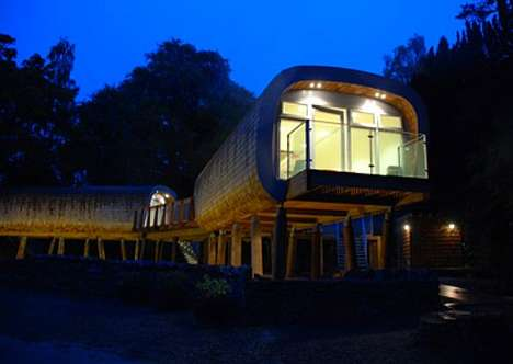 Tree Pod Classrooms - The Elleray Preparatory School Treehouse School Stands on Stilts