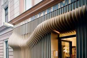 The Hair Couture Salon Exterior Design by X Architekten