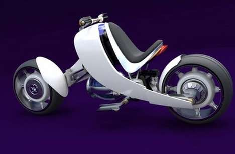 Nuclear Power Superbikes - The Motorbike 2050 Version 2 Will Use Nuclear Fusion Technology