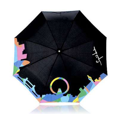Color Changing Umbrellas