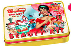 Kitschy Illustrative Packaging