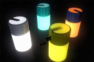 Kinetic Energy Powers Wind-Up Lighting Units