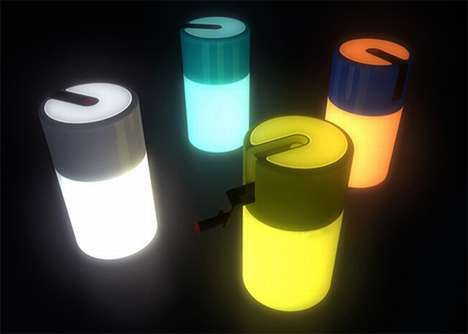 Eco-Twinkle Lights - Kinetic Energy Powers Wind-Up Lighting Units