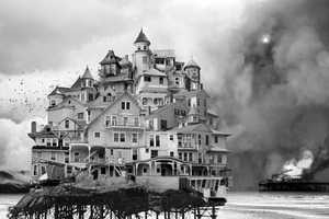 Jim Kazanjian's Black and White Photography is Trippy