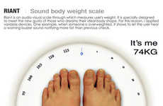 Goal-Tracking Scales - Pedulums on the Riant Weighing Scale Help Keep You on Track
