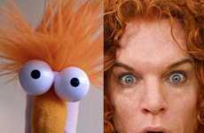 Celebrity Muppetism - A Look at Puppets and Their Celebrity Look Alikes