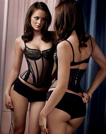 Gossip Girl Lingerie Spreads