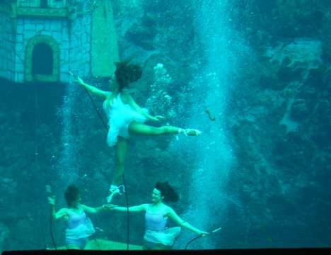 Live Mermaid Shows