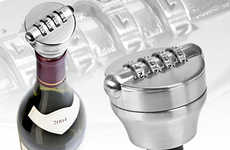 Combination Locks for Booze - The Bottle Lock is a Creative Way to Curb Alcohol Consumption
