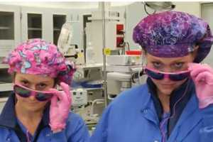 Hospital Staff Boogies to Promote Cancer Awareness