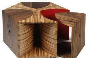 Toby Howes' Escher Coffee Table Has Real Edge