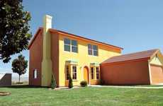 Life-Size Cartoon Homes