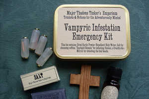 The Vampyric Infestation Emergency Kit by Major Thadeus Tinker