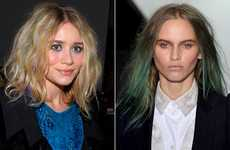 Rainbow-Hued Hair - Spring 2010 Hair Colors Include Blue, Green and Purple