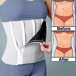 Multi-Zipper Corsets - The 'Five Step Belt' Gives You 5 Stages of Slimming Your Waist