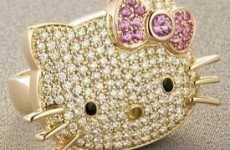 The $4250 Hello Kitty Diamond Ring