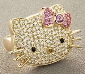 Japanese Icons Go Bling - The $4250 Hello Kitty Diamond Ring